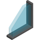 Double Glazed Metal Frame Windows Thumbnail