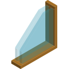 Double Glazed Wooden Frame Windows Thumbnail