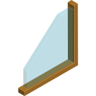 Single Glazed Wooden Frame Windows Thumbnail