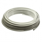 Image for 10mm x 25m PVC Plastic White Coated Copper Pipe Coil