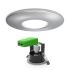 Image for 4Lite GU10 Fire Rated Downlight Chrome - 4L1/2201