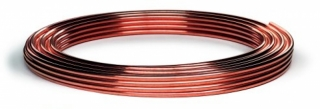8mm x 10m Copper Pipe Coil