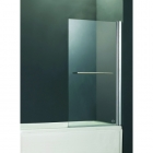 Image for Abacus Direct Vessini E Series One Part Bath Screen with Towel Bar 800mm x 1500mm