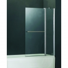 Image for Abacus Direct Vessini E Series Two Part Bath Screen with Towel Bar 940mm x 1410mm