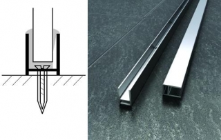 Abacus V-Fix Silicone Free Surface Channels