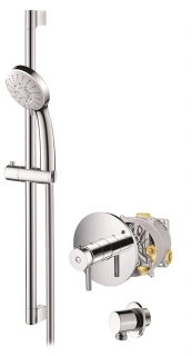 Abacus Vessini Easi-Box Thermostatic Shower - Kit 1