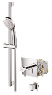 Abacus Vessini Easi-Box Thermostatic Shower - Kit 2