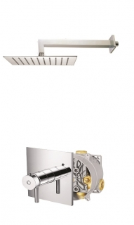 Abacus Vessini Easi-Box Thermostatic Shower - Kit 4