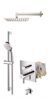 Abacus Vessini Easi-Box Thermostatic Shower - Kit 8