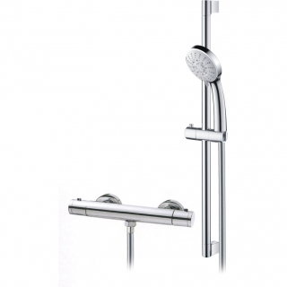 Abacus Vessini Exposed Thermostatic Shower - Kit 29