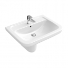 Image for Abacus Vessini Opaz 2 Semi Recessed 550mm 1 Tap Hole Basin - VESW-20-4005