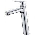 Image for Abacus Vessini Orta - Basin Tap - Deck Mounted Monobloc (Tall) - Chrome - VETS-15-1110