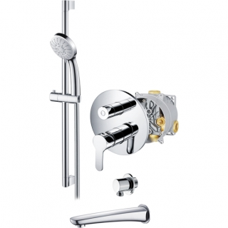 Abacus Vessini Orta Easi-Box Manual Shower - Kit 20