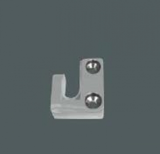 Abacus X Series Glass Floor Fixing Clip