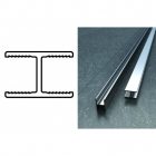 Abacus X Series Straight Joint H Channel - 2000mm