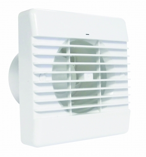 Airvent 100mm Bathroom Standard Fan with Humidstat