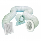 Image for Airvent 100mm Shower In-Line Standard Fan