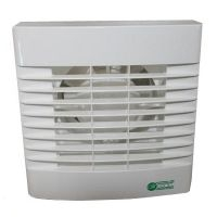 Airvent Axial 100mm Toilet & Bathroom Standard Fan with Shutter & Timer