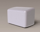 Image for Airvent Ecofast 1kW Hand Dryer - White - 444769