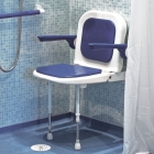 STANDARD SHOWER SEAT WITH BACK & ARMS 4000 SERIES