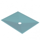 Image for AKW Tuff Form Wet Room Tray with GW50 Waste & Waste Adaptor - 1300mm x 820mm - 21063
