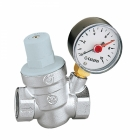 "Image for Altecnic 1/2"" Pressure Reducer Valve & Gauge"