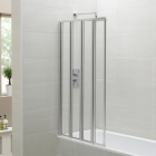 April Identiti2 4 Fold Bath Screen
