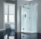 Image for April Prestige2 Frameless Single Door Quadrant 800mm LH AP8920L
