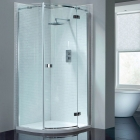 Image for April Prestige2 Frameless Single Door Quadrant 900mm RH AP8921R