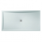 Image for April Waifer Slate Effect Shower Tray Slate White 1200mm x 700mm 557/000