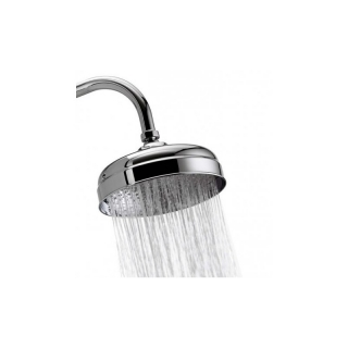 Aqualisa Aquatique Semi Rec 8 in Fxd Shwr Head Chrome 580.01