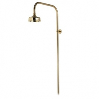Aqualisa Aquatique Fixed Kit Exposed 5'' – Gold
