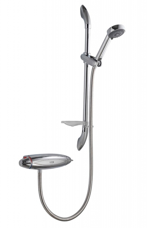 Water Saving Shower Heads >> Aqualisa Colt Exposed Shower With Adjustable Harmony Head ...