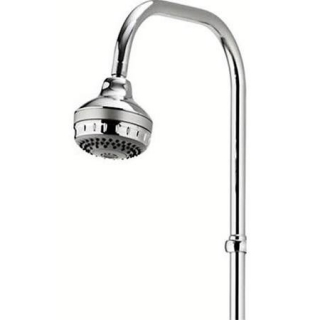 Aqualisa Varispray Fixed Head Exposed 3 Spray Shower Head – Chrome