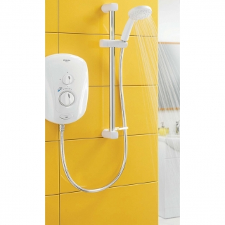 Aqualisa Vitalise S Electric Shower With Adjustable Head