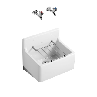Armitage Shanks 455mm Birch Cleaners Sink