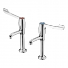 Image for Armitage Shanks Markwik High Neck Pillar Taps S8265AA