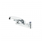 Armitage Shanks Sandringham 21 Kitchen Sink Mixer 2 Hole Lever B9886AA