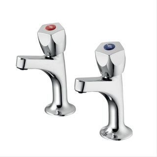Armitage Shanks Sandringham 21 Sink Pillar Taps B9872AA