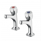 Image for Armitage Shanks Sandringham 21 Sink Pillar Taps B9872AA