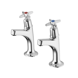 Armitage Shanks Sandringham 21 Sink Pillar Taps Crosshead B9879AA