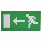 Image for Ascot Emergency Exit Legend - Left - AEXLGDLEFT
