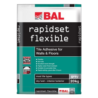 BAL Rapid Set Flexible Adhesive