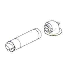 Baxi Multifit Flue Group G Horizontal Flue Inc Adaptors 125mm 5118580