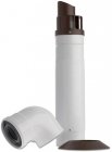 Image for Baxi Multifit Group A 60/100mm Horizontal Telescopic Flue White - 720599401