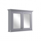 Image for Bayswater 1050mm Mirror Wall Cabinet Plummett Grey - BAYF131