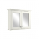 Image for Bayswater 1050mm Mirror Wall Cabinet Pointing White - BAYF133