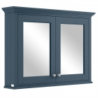 Image for Bayswater 1050mm Mirror Wall Cabinet Stiffkey Blue - BAYF132