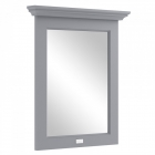 Image for Bayswater 600mm Flat Mirror Plummett Grey - BAYF122