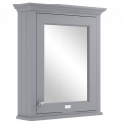 Image for Bayswater 600mm Mirror Wall Cabinet Plummett Grey - BAYF128